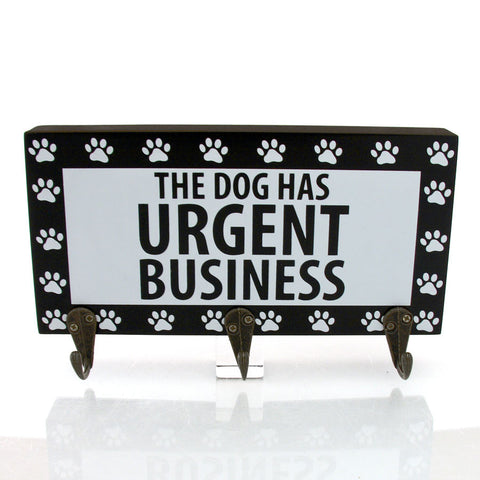 Urgent Business Leash Holder
