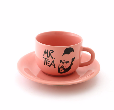 Vintage Mr. Tea Teacup and Saucer