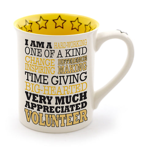 Volunteer Typography Mug