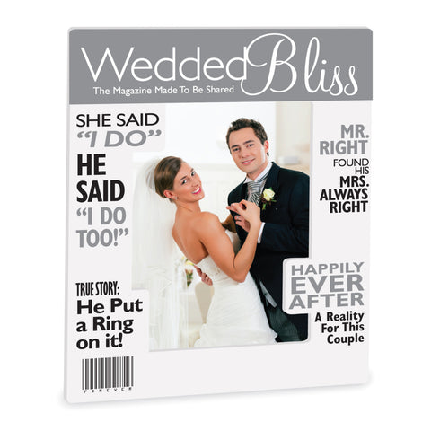 Wedded Bliss Magazine Frame
