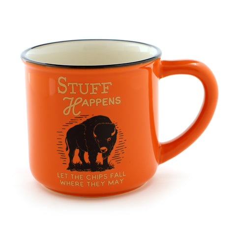 Stuff Happens Bison Mug