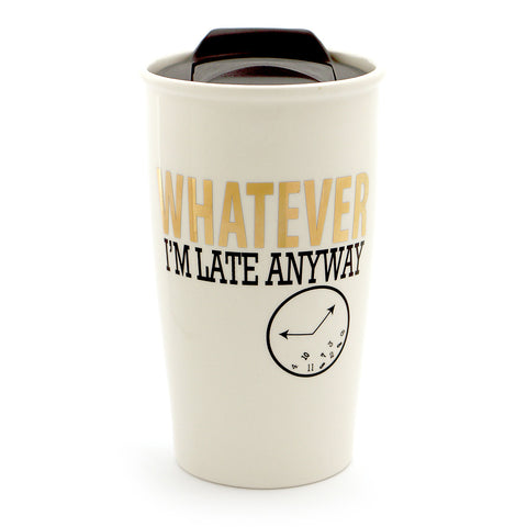 Whatever Gold Travel Mug