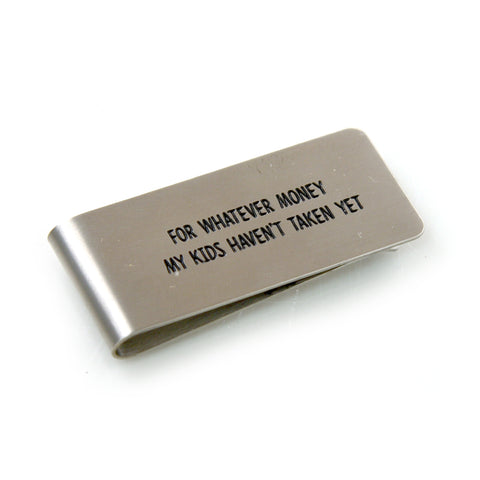Whatever Money  Money Clip