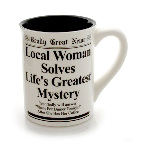 Whats For Dinner Mug - RGN