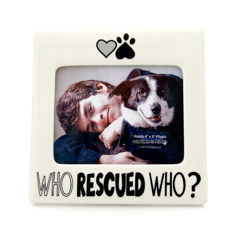 Who Rescued Who Frame