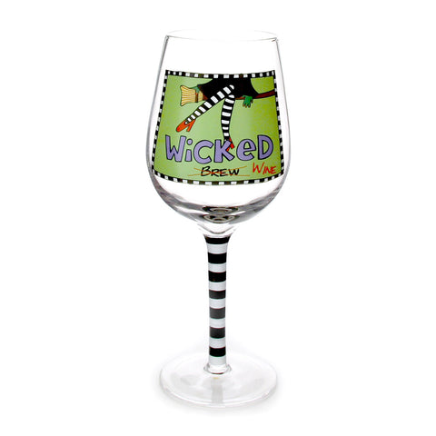 Wicked Wine Glass