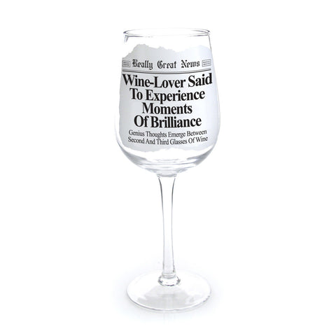 Wine Lover Wine Goblet