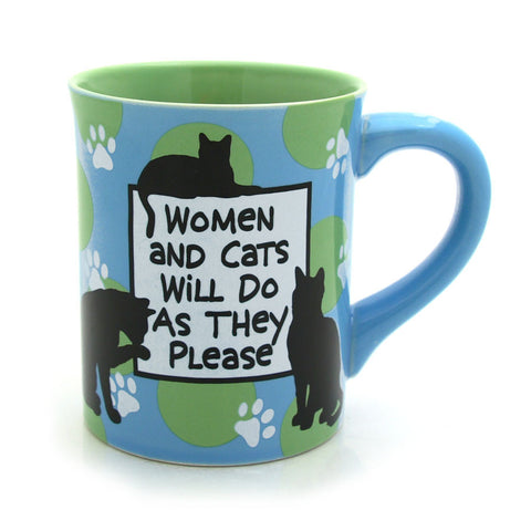 Women and Cats Mug
