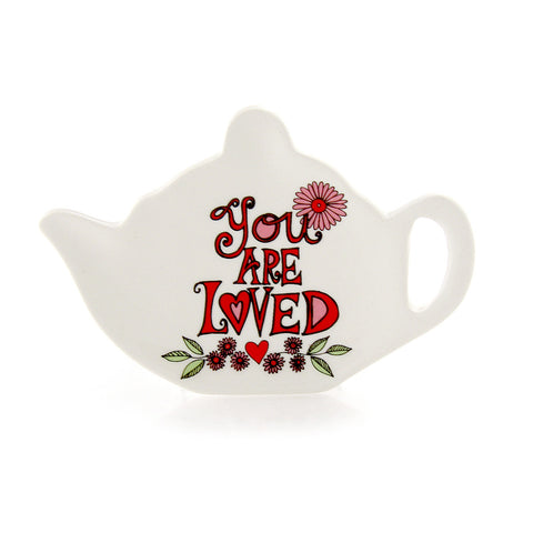 You Are Loved Teabag Holder