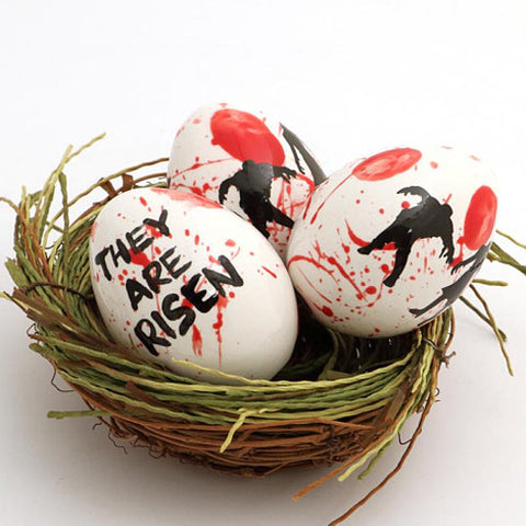Ceramic Zombie Easter Egg