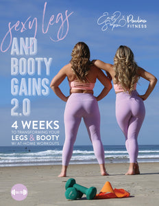NEW Sexy Legs and Booty Gains Ebook 2.0 (Home Edition)