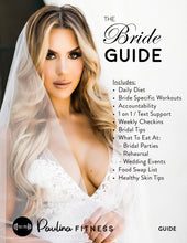 Load image into Gallery viewer, Fit Bride 12 Week Guide (With COACHING)