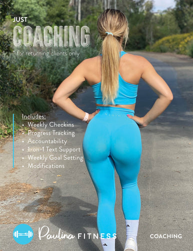 Just Coaching! (Returning Clients Only)