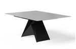 Maestro Extension Dining Table - Grey/Black