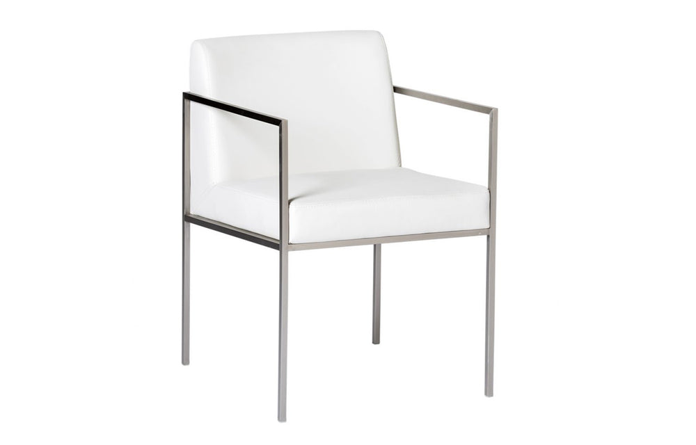 Regale Dining Chair - White