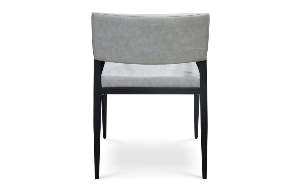 Social Armchair - Light Grey/Black