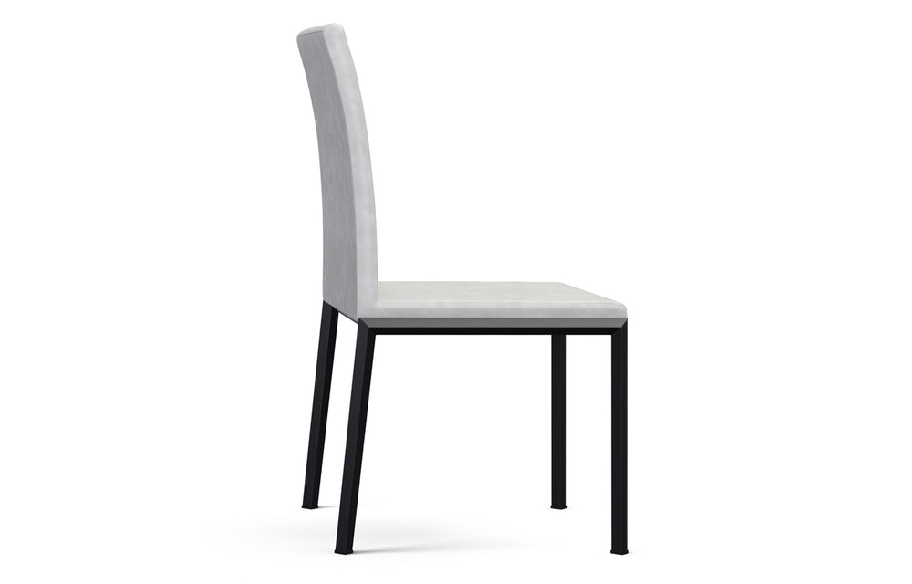 Social Dining Chair - Light Grey/Black