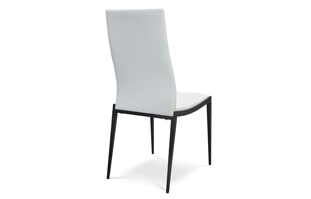 Soiree Dining Chair - White/Black