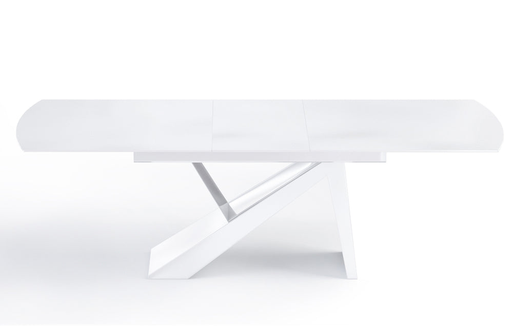 Virtuoso Extension Dining Table - All White