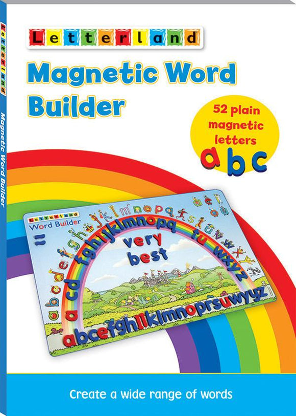 Magnetic Word Builder