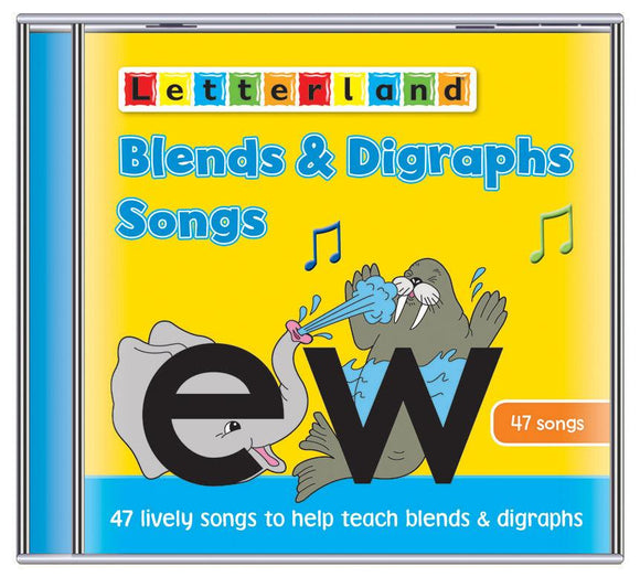Blends & Digraphs Songs (CD)