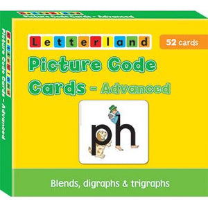 Picture Code Cards - Advanced