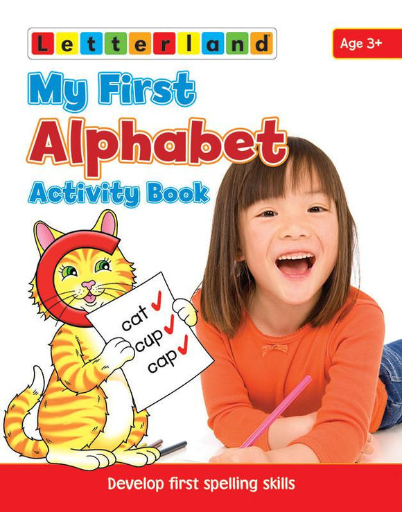 My First Alphabet Activity Book