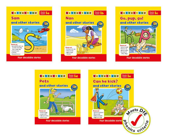 Phonics Readers Set 1
