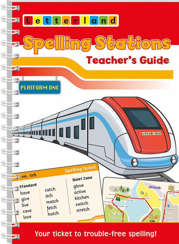 Spelling Stations 1 Teacher's Guide