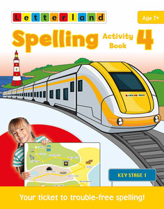 Spelling Activity Book 4