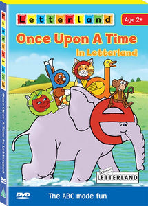Once Upon A Time in Letterland (DVD)