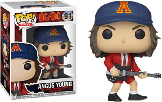 Prolectables - AC/DC - Angus Young Red Jacket  Pop!