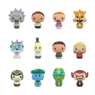Rick and Morty - Pint Size Heroes (Toys R Us)