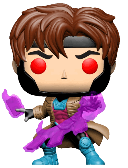 X-Men - Gambit with Cards Pop! Vinyl