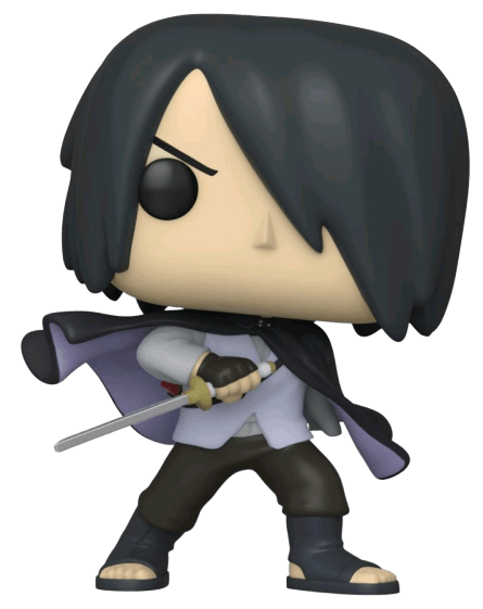 Boruto - Sasuke with cape (No arm) Specialty Store Exclusive Pop! Vinyl
