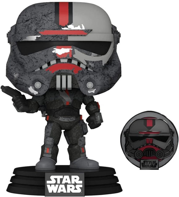 Star Wars: Across the Galaxy - Hunter Pop! Vinyl with Pin