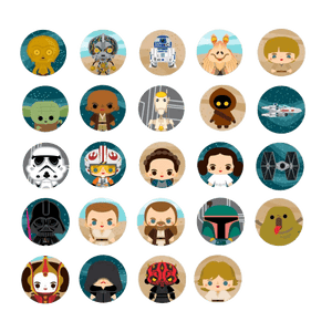 Star Wars - Chibi Pins series 04 Assortment (10pcs)