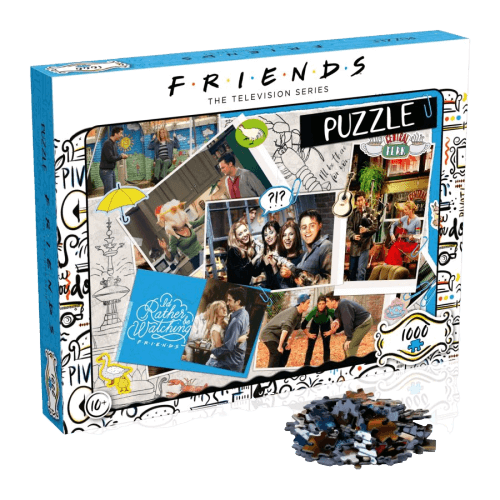Friends - Scrapbook 1000pc Puzzle