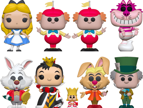 Alice in Wonderland - Pop! Vinyl Bundle