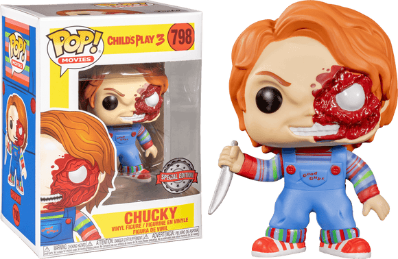 Childs Play 3 - Chucky Battle Damaged Pop! Vinyl