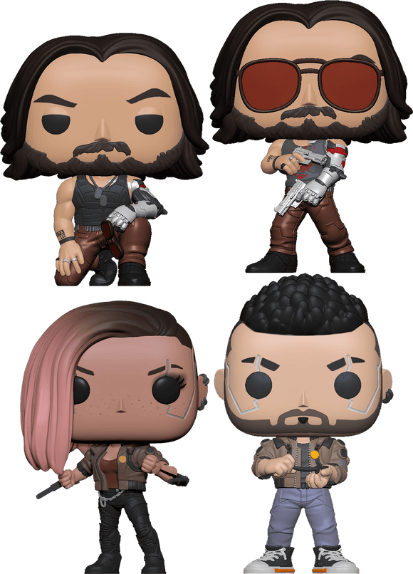 Cyberpunk 2077 - Pop! Vinyl Bundle