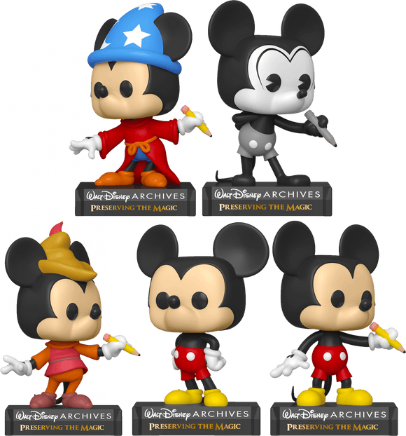 Disney Archives - Mickey Pop! Vinyl Bundle