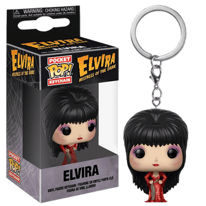 Elvira - Elvira in Red Dress Pocket Pop! Keychain
