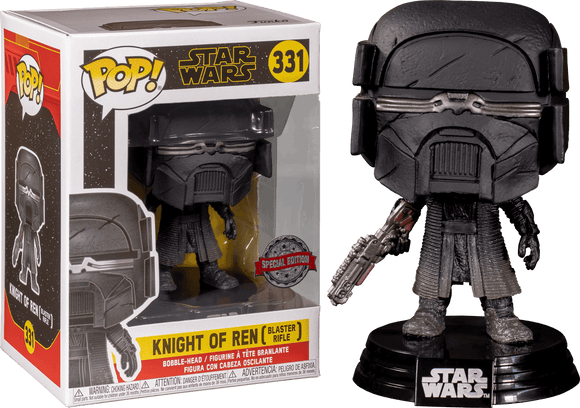 Star Wars Episode IX - Knight Of Ren with Blaster Pop! Vinyl