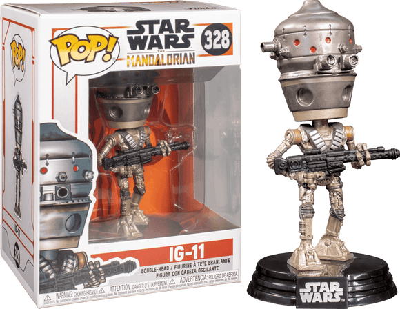 Star Wars: The Mandalorian – IG-11 Pop! Vinyl