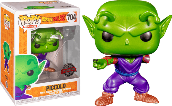 Dragon Ball Z - Piccolo with Missing Arm Metallic Pop! Vinyl
