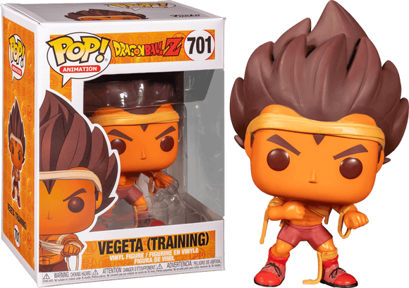Dragon Ball Z - Vegeta Training Pop! Vinyl