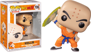 Dragon Ball Z -  Krillin with Destructo Disc Pop! Vinyl