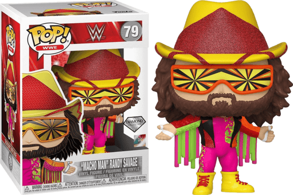 WWE: NWSS- Macho Man Randy Savage Diamond Glitter  Pop! Vinyl