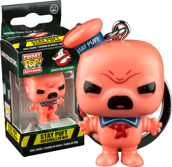 Ghostbusters - Angry Stay Puft Pocket Pop! Keychain